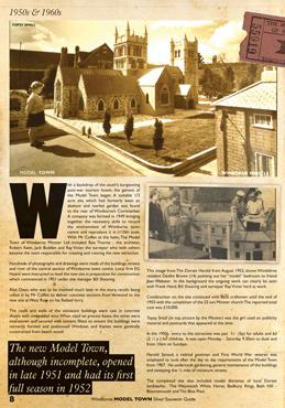 Wimborne Model Town Souvenir Guide p8